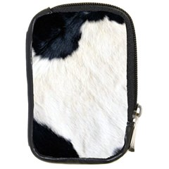 Cow Skin Compact Camera Leather Case by photogiftanimaldesigns