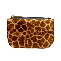 Giraffe Skin Mini Coin Purse by photogiftanimaldesigns