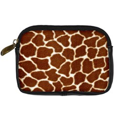 Giraffe Skin 2 Digital Camera Leather Case by photogiftanimaldesigns