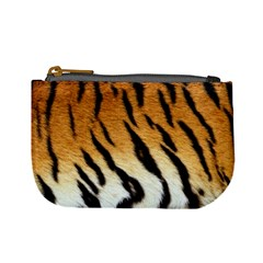 Tiger Skin Mini Coin Purse by photogiftanimaldesigns