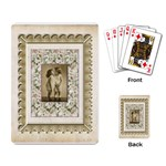Kiss Vintage Frame Playing Cards - Playing Cards Single Design