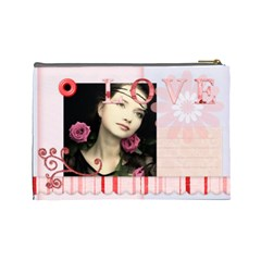 Love Bag By Joely   Cosmetic Bag (large)   73vtd1cmaegg   Www Artscow Com Back