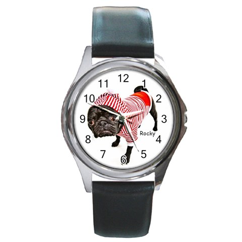 Rocky Watch For Website By Chantel Reid Demeter   Round Metal Watch   Uwjloqtw2aj3   Www Artscow Com Front