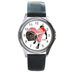 rocky watch for website - Round Metal Watch