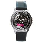 rocky girl watch option 2 - Round Metal Watch