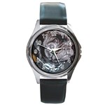 rocky puppy watch 2 - Round Metal Watch