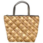 basketweave - Bucket Bag