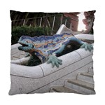 Lizard in Park Guell Barcelona - Standard Cushion Case (One Side)