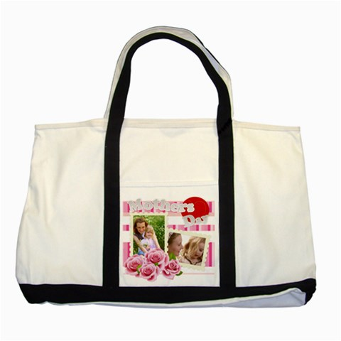 Mother s Day By Joely   Two Tone Tote Bag   P91zzxm8qaf9   Www Artscow Com Front