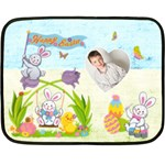 Happy Easter mini fleece - Fleece Blanket (Mini)