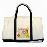 Happy easter - Two Tone Tote Bag