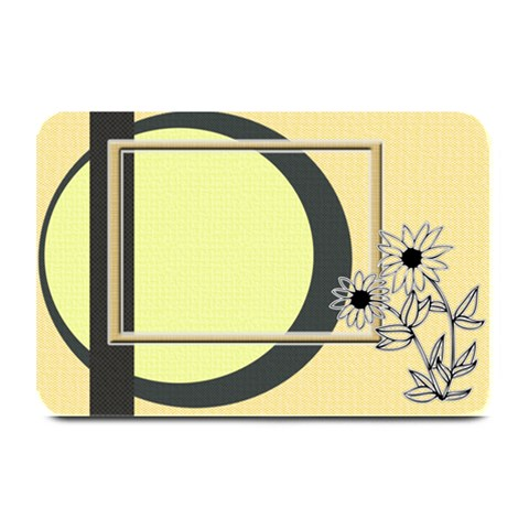 Sunflower Place Mat By Daniela   Plate Mat   Iox3ae6tfmys   Www Artscow Com 18 x12 Plate Mat - 1