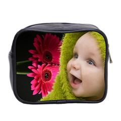 Gerbera   Mini Toiletries Bag By Elena Petrova   Mini Toiletries Bag (two Sides)   Vvwuv7uano3i   Www Artscow Com Back