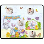 Easter Egg Hunt Medium Fleece Blanket - Fleece Blanket (Medium)