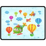 Up, Up & Away Extra Large Fleece Blanket - Fleece Blanket (Large)