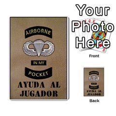Airborne Imp (juego Base + Rules)  By Doom18   Multi Purpose Cards (rectangle)   Vhteoerqjkx4   Www Artscow Com Frontback