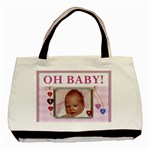 Oh Baby Girl Classic Tote Bag - Basic Tote Bag