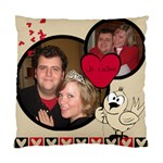 tweetheart - Standard Cushion Case (Two Sides)