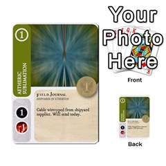 Aether Captains: Capek Golems By Todd Sanders   Multi Purpose Cards (rectangle)   Z3o6m6uai70u   Www Artscow Com Front 12