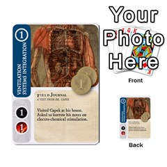 Aether Captains: Capek Golems By Todd Sanders   Multi Purpose Cards (rectangle)   Z3o6m6uai70u   Www Artscow Com Front 16