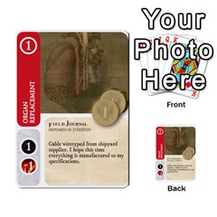 Aether Captains: Capek Golems By Todd Sanders   Multi Purpose Cards (rectangle)   Z3o6m6uai70u   Www Artscow Com Front 20