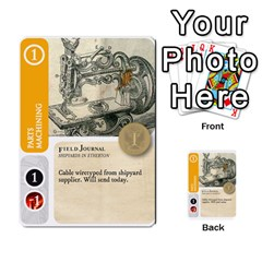 Aether Captains: Capek Golems By Todd Sanders   Multi Purpose Cards (rectangle)   Z3o6m6uai70u   Www Artscow Com Front 32