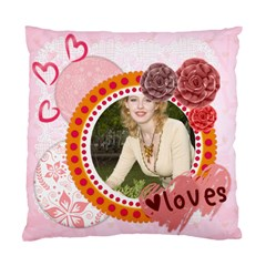 Love Of Case By Joely   Standard Cushion Case (two Sides)   U77b9nvjanyh   Www Artscow Com Back