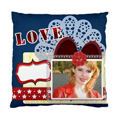 Love Of Case By Joely   Standard Cushion Case (two Sides)   Ytg25co4bsc6   Www Artscow Com Front