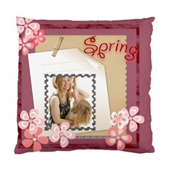 Spring Of Come By Joely   Standard Cushion Case (two Sides)   Qv1jb5uzflkc   Www Artscow Com Back