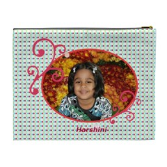 Harshini By Radhika   Cosmetic Bag (xl)   Beros4lz9r26   Www Artscow Com Back