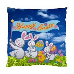 Easter Egg Hunt Double Sided Cushion By Catvinnat   Standard Cushion Case (two Sides)   Sydrovy6m1gu   Www Artscow Com Front