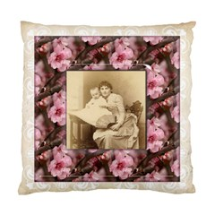 May Blossom Heritage 2 Sided Cushion Case By Catvinnat   Standard Cushion Case (two Sides)   Owkwdfpmokaz   Www Artscow Com Back