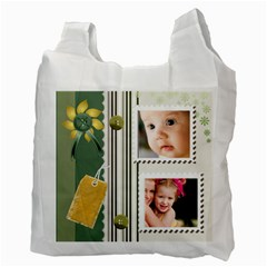 Nature  Spring By Joely   Recycle Bag (two Side)   637k23gb10dm   Www Artscow Com Back