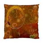 Love 24 Gold Hearts Custom Cushion Case  - Cushion Case (One Side)
