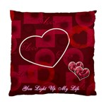 You Light Up my Life Custom Cushion Case  - Cushion Case (One Side)