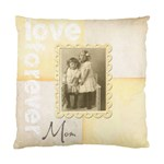Love Forvber Mom Double dided cushion cover - Standard Cushion Case (Two Sides)