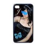 jasmine - Apple iPhone 4 Case (Black)