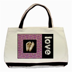 Baby Love Double Sided Tote Bag By Catvinnat   Basic Tote Bag (two Sides)   2vvco8z8y5g0   Www Artscow Com Back