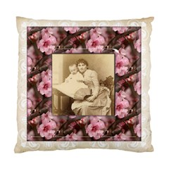May Blossom Heritage 2 Sided Cushion Case 2 By Catvinnat   Standard Cushion Case (two Sides)   I02l1ueacl7h   Www Artscow Com Front