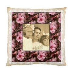 May Blossom Heritage 2 Sided Cushion Case 2 By Catvinnat   Standard Cushion Case (two Sides)   I02l1ueacl7h   Www Artscow Com Back
