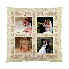 Damask Wedding Double Sided Cushion Cover By Catvinnat   Standard Cushion Case (two Sides)   Yitvkf5insbc   Www Artscow Com Back