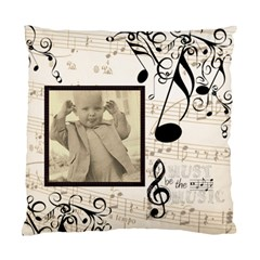 Must Be The Music 2  Double Sided Cushion Cover By Catvinnat   Standard Cushion Case (two Sides)   Takv7f9meoy5   Www Artscow Com Front