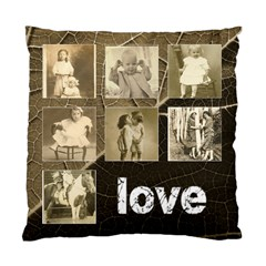 Family Love Multi Frame  Double Sided Cushion Cover By Catvinnat   Standard Cushion Case (two Sides)   Q6ifjl6iflr9   Www Artscow Com Back