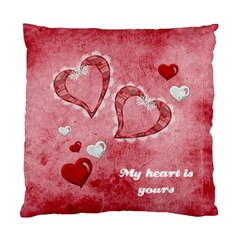 My Heart Is Yours Cushion Case By Elena Petrova   Standard Cushion Case (two Sides)   Qhoz31l7cqch   Www Artscow Com Front