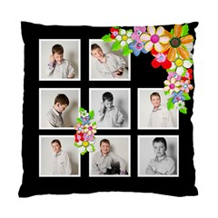 Monochrome Spring Double Sided Cushion Cover By Catvinnat   Standard Cushion Case (two Sides)   Bcc5siatxa7j   Www Artscow Com Back