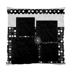 Cushion Case   2 Sides   Black&white By Angel   Standard Cushion Case (two Sides)   350y1xda12gh   Www Artscow Com Back