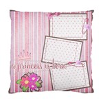 cushion case - 2 sides - my baby s firsts... - Cushion Case (Two Sides)