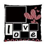 cushion case - 2 sides - my valentine - Standard Cushion Case (Two Sides)