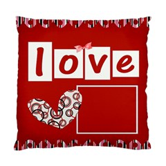 Cushion Case   2 Sides   My Valentine By Angel   Standard Cushion Case (two Sides)   Z4ht4ppyogwv   Www Artscow Com Back