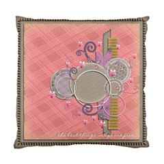 Cushion Case   2 Sides   Beautiful    By Angel   Standard Cushion Case (two Sides)   Dbfb3fvqng76   Www Artscow Com Front